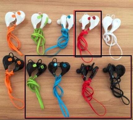 BT earphones